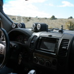 Interior Nissan Navara ATR4X4