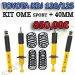 Suspensión Toyota KDJ 120/125